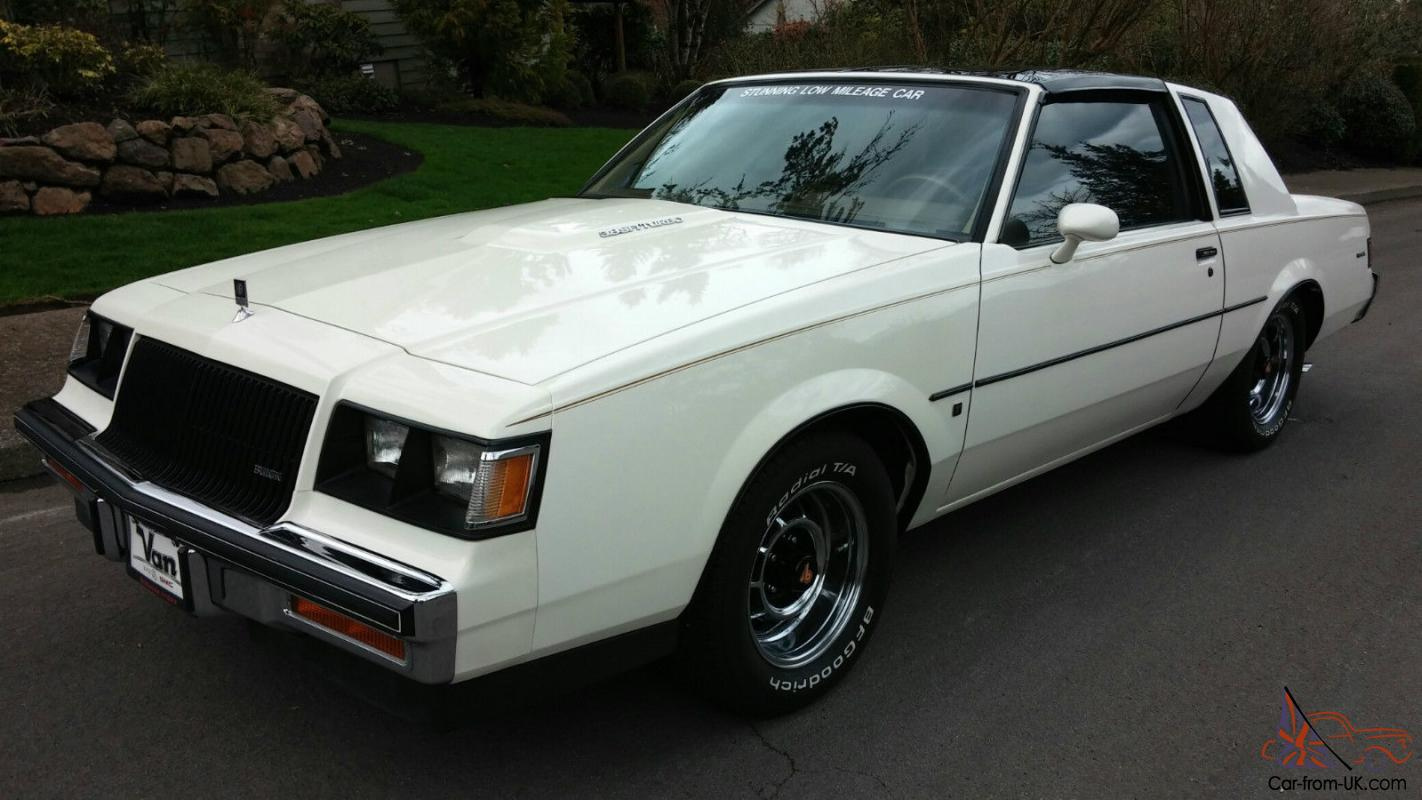 Buick Regal T Type >> 1987 Buick Regal T Type Turbo With T Tops Rarer Than A Grand National 38k Mi