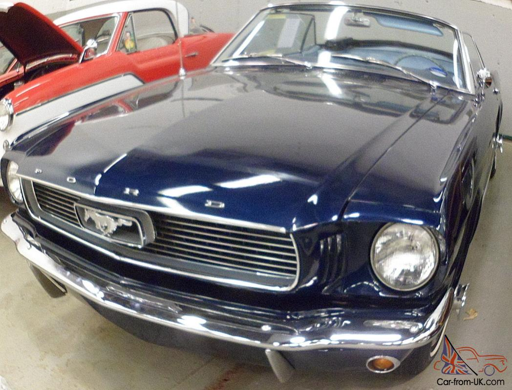 1966 Ford Mustang Sprint 200 Convertible