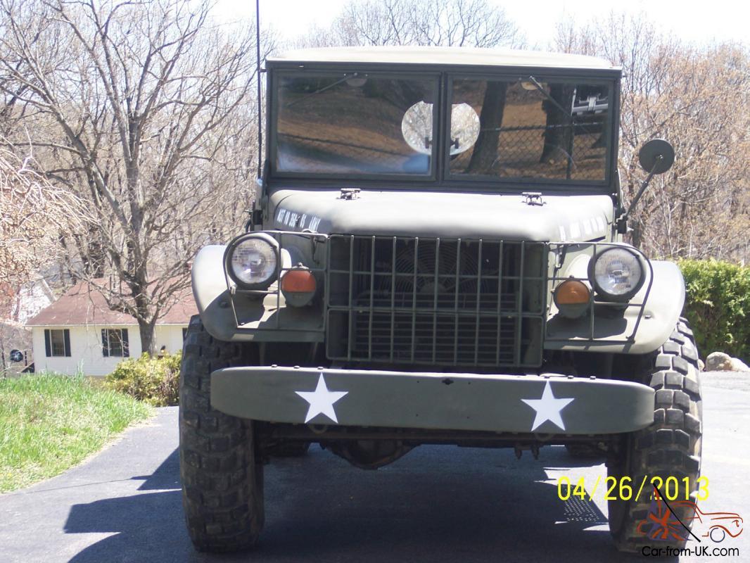 Dodge Power Wagon Military M37 Truck v8 Auto