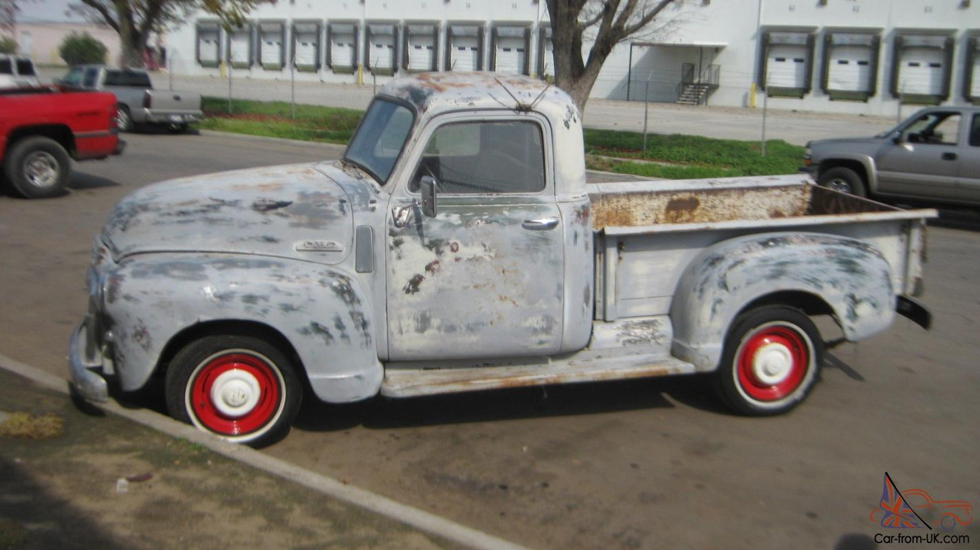 1948 1948 1949 GMC TRUCK SHORTBED 1/2 TON / SOLID CALIFORNIA METAL CHEVY  RATROD