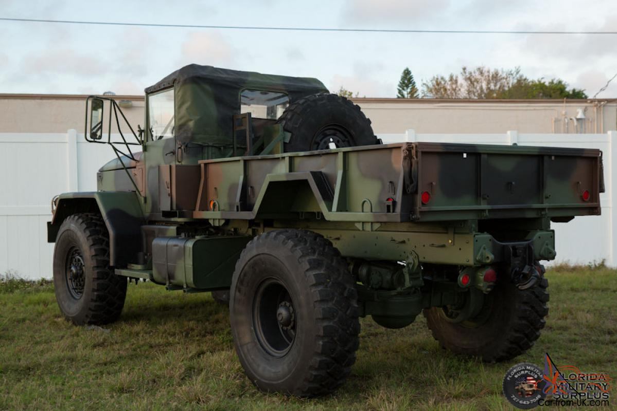 Military Vehicles For Sale Canada >> 1968 Kaiser Jeep M54a2 Military Multifuel 5 Ton Bobbed M35 4x4