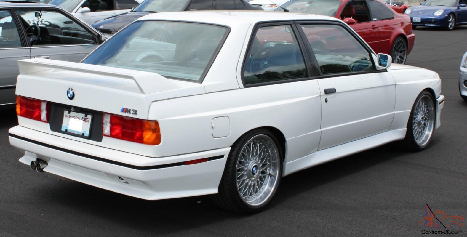 1988 E30 M3 3 2l Alpine White Clean Title