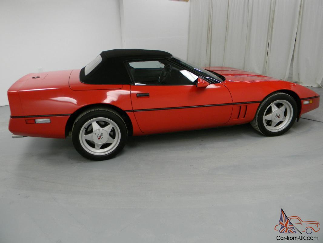Callaway Corvette For Sale >> 1989 Callaway Corvette Twin Turbo Convertable