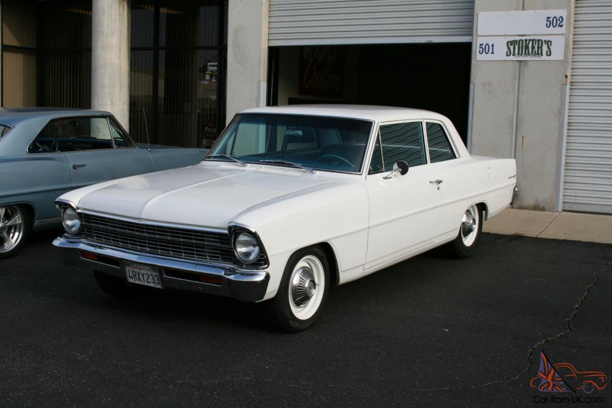 All Chevy 64 chevy ii : Chevy II Nova 2 Door Sedan Restored 406 SBC Sleeper 62 63 64 65 66 67