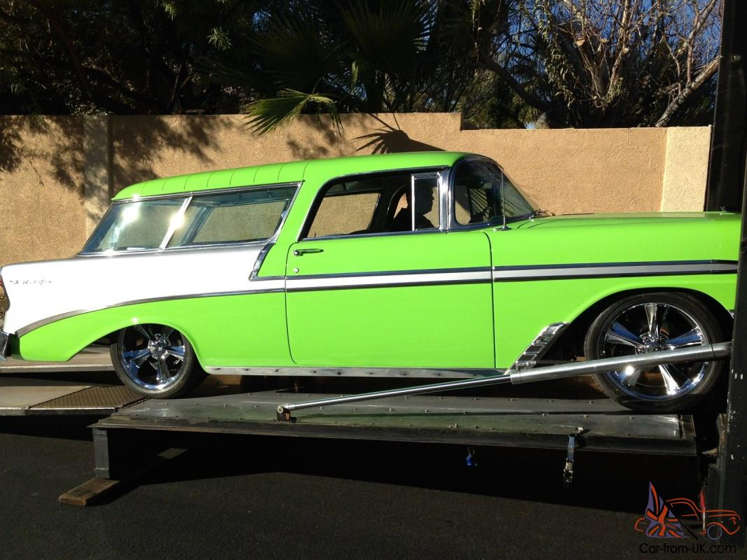 All Chevy 1956 chevy nomad for sale : Chevy Nomad AS SEEN ON TV by Fast