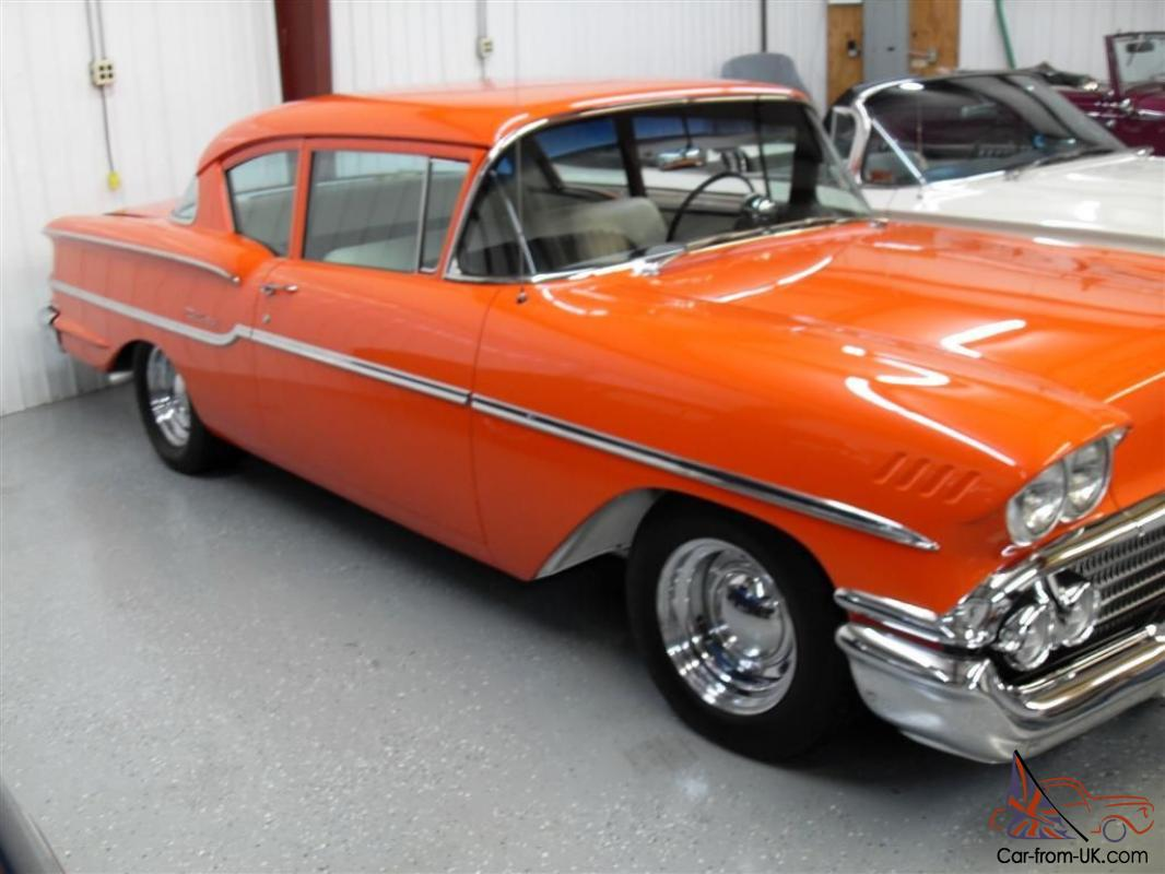 All Chevy 58 chevy bel air : Chevy DelRay restored hot rod, 406 Stroker, Ford 9