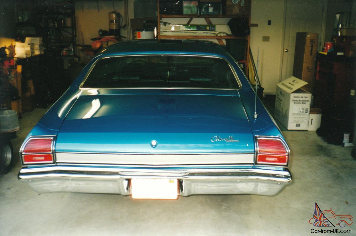 1969 Chevelle Malibu 350/300 HP original parts & owners/ frame-off  restoration
