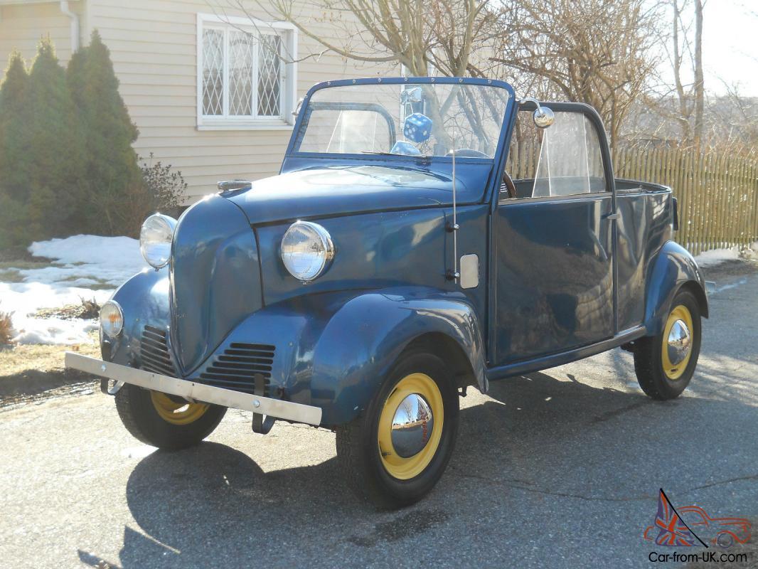 Rare Antique Vintage 1939 Crosley Coupe Convertible 1st