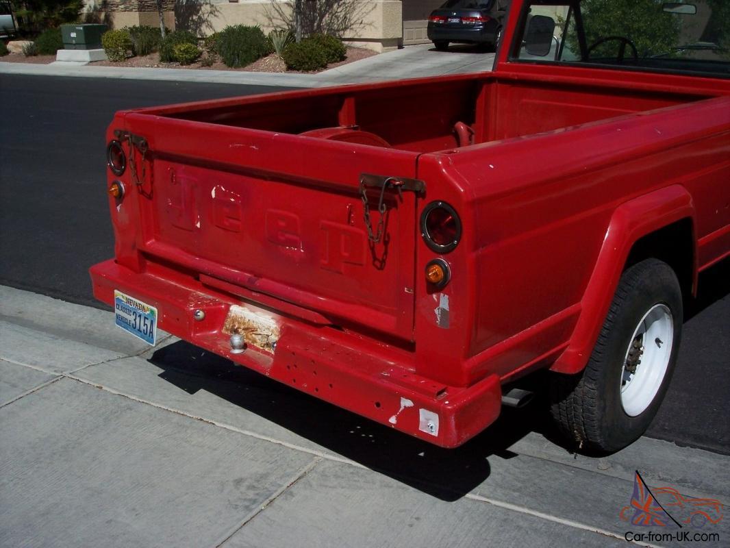 1969 Jeep Kaiser J3000 Gladiator, V8, 4x4, P/S, P/B, A/C, Runs Great!!  CHEAP!!