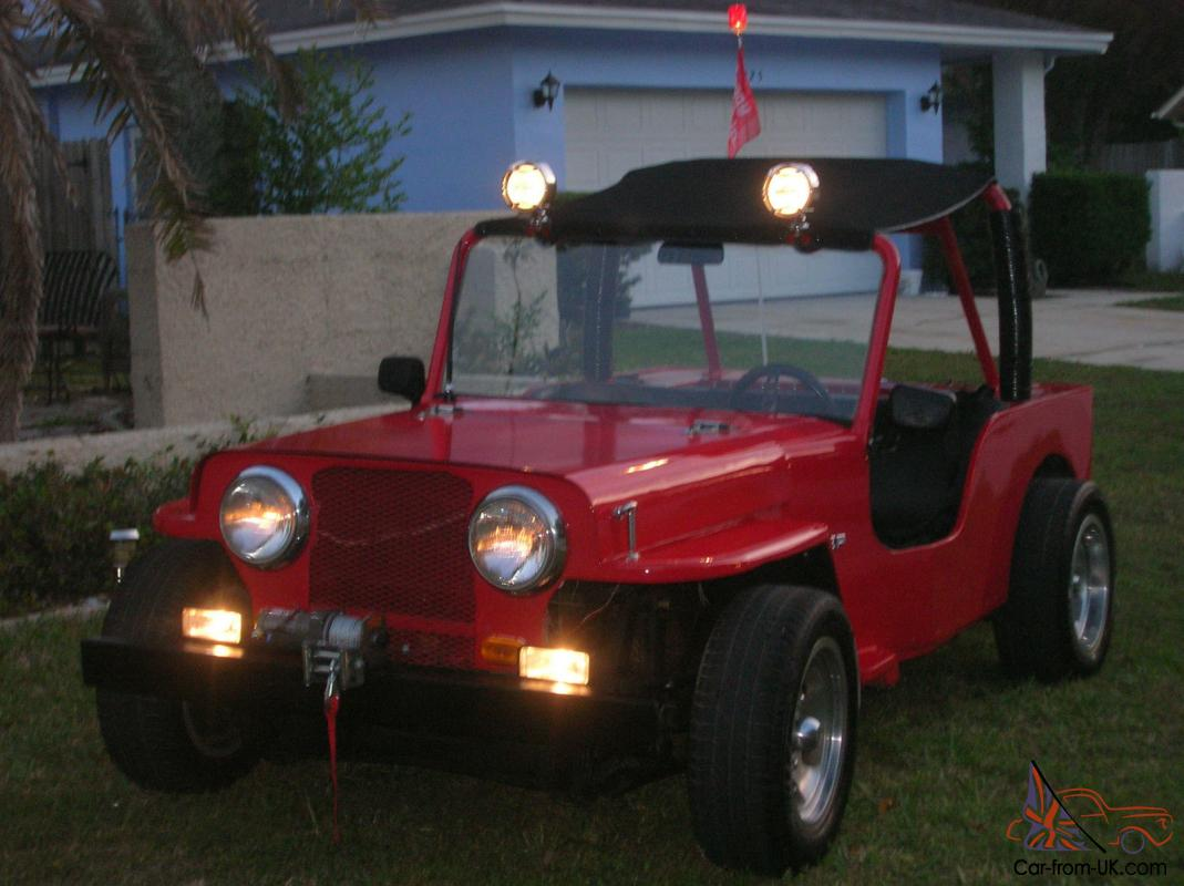 VW DUNE BUGGY VEEP JEEP VEEPSTER SCAMP GPV WILLY BEETLE CLASSIC OFF ROAD