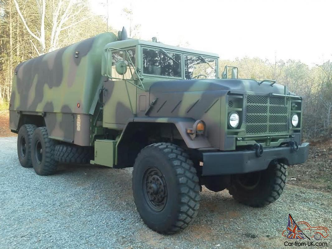 1986 military 6x6 truck machine shop bug out camper