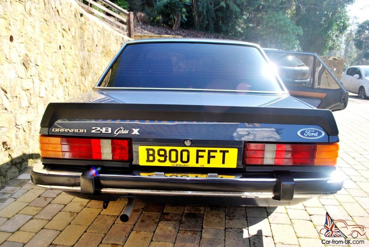 Stunning Ford Granada 2 8 Ghia X in fantastic condition