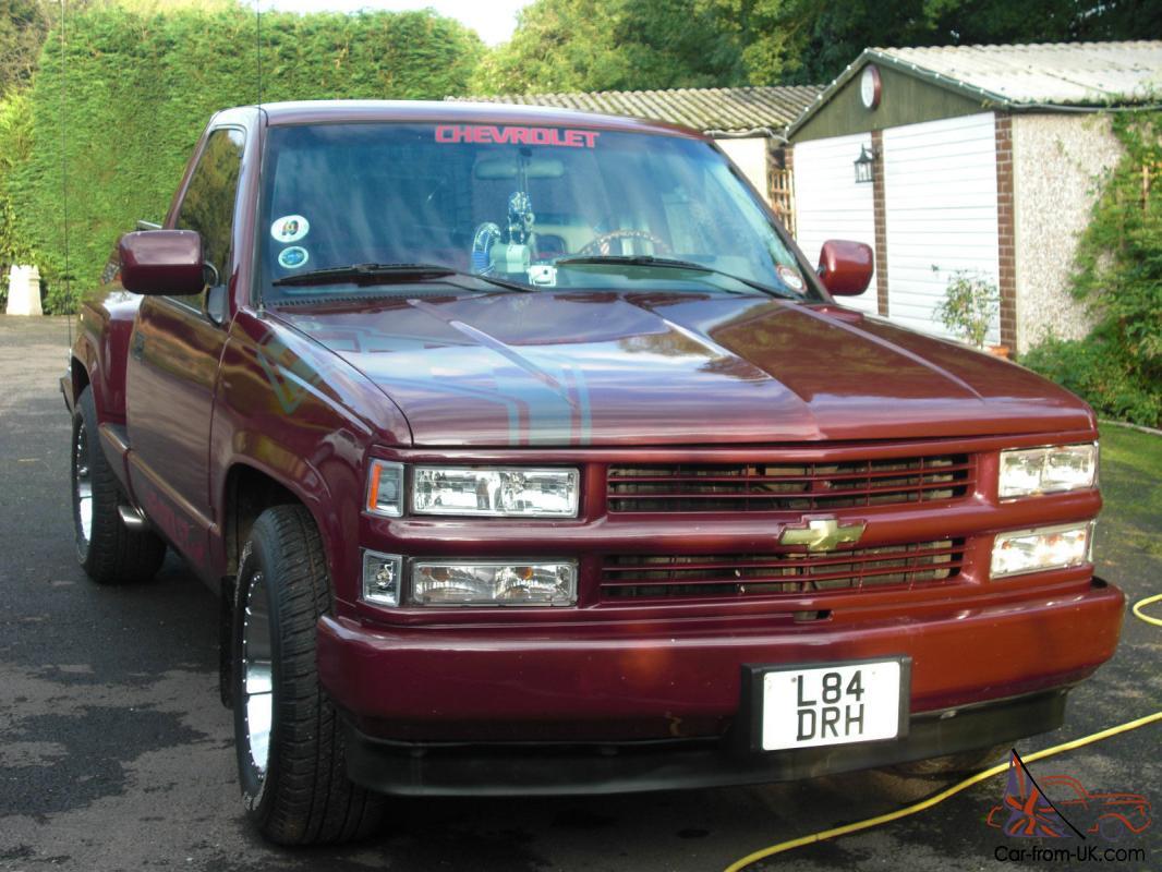 Silverado 94 chevy silverado 1500 : Chevrolet C1500 Custom Truck