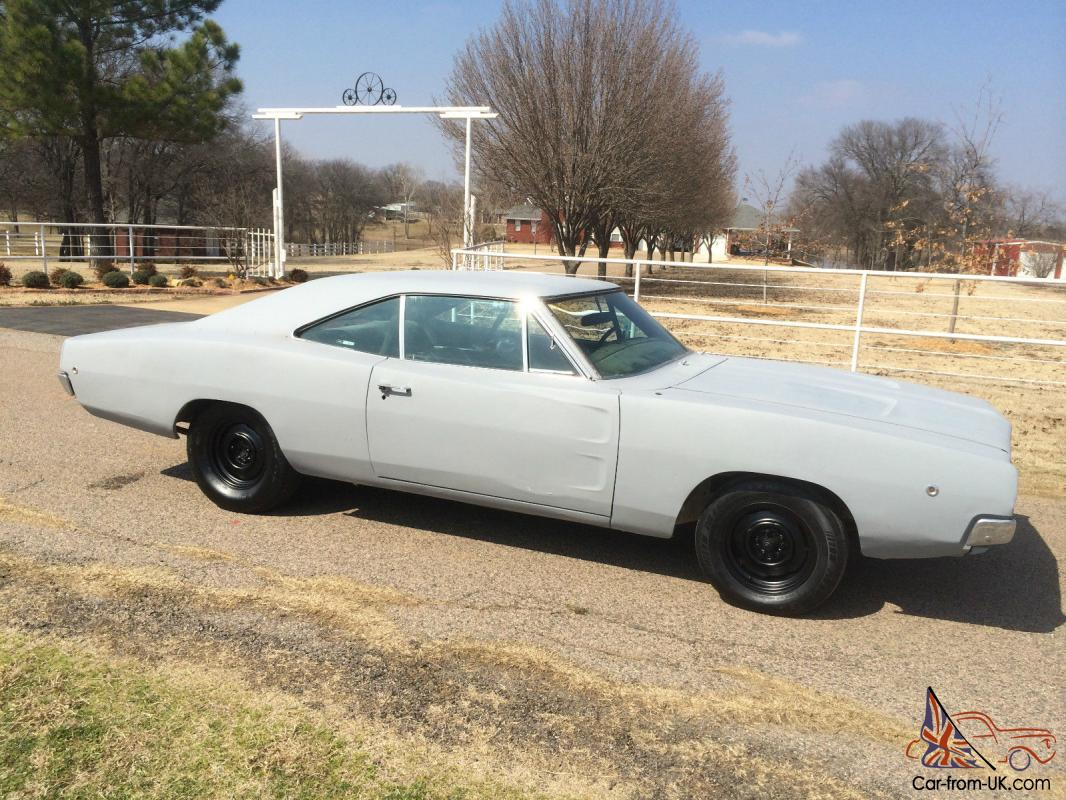 1968 Dodge Charger 383 Big Block With An Automatic Transmission
