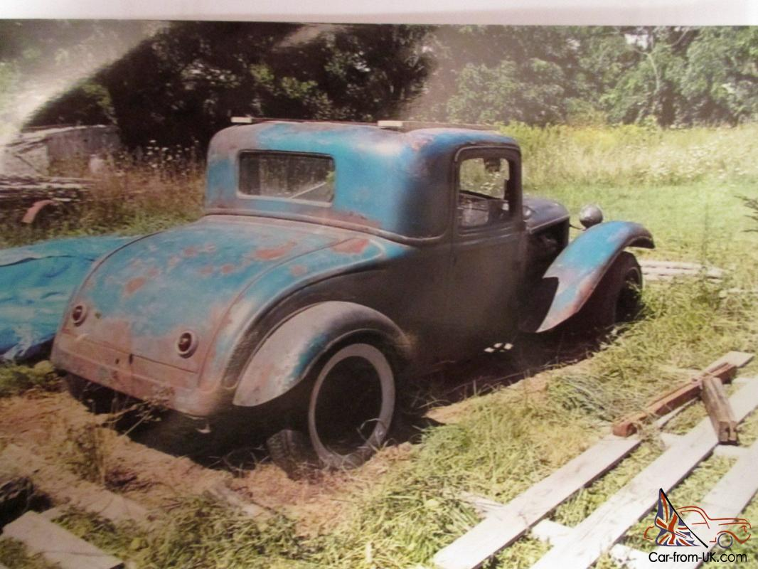 1932 32 Dodge Coupe 3 Window Hot Rod Ratrod Not Ford Or Chevy