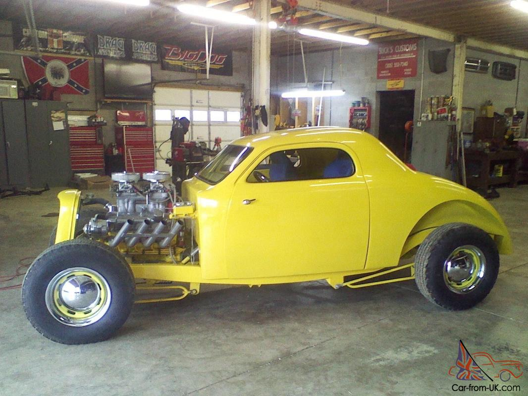 1939 1940 Ford Coupe Big Block Rat Rod