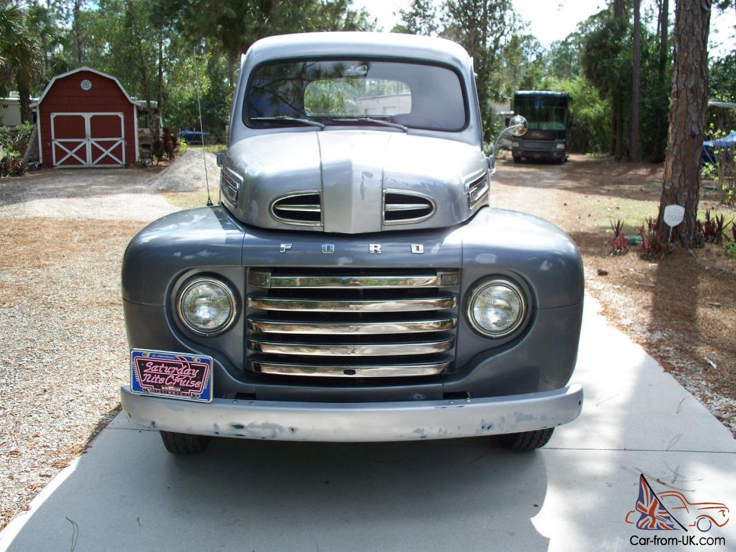 1948 Ford F 1 Flathead V 8 All Steel Rust Free Calif Truck 6 Completely Restored
