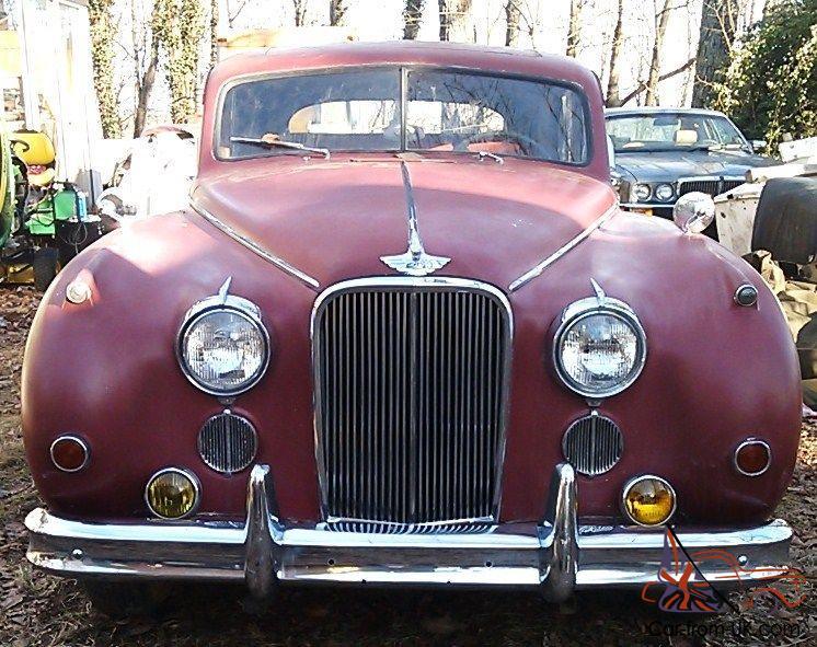 1954 jaguar MK 7 M, Saloon, stored since 1964, runs great, driven daily, rare