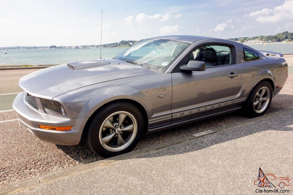 2007 Ford Mustang Gt 4 0 V6 Metallic Grey
