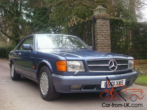 Mercedes Benz 560 Sec Pillarless Coupe For Sale