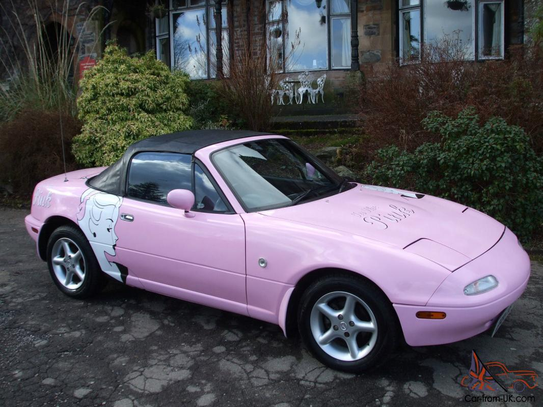 Mazda Mx5 For Sale >> Mazda Mx5 Eunos Sports Roadster 1989 1 6 Manual Pink Convertible