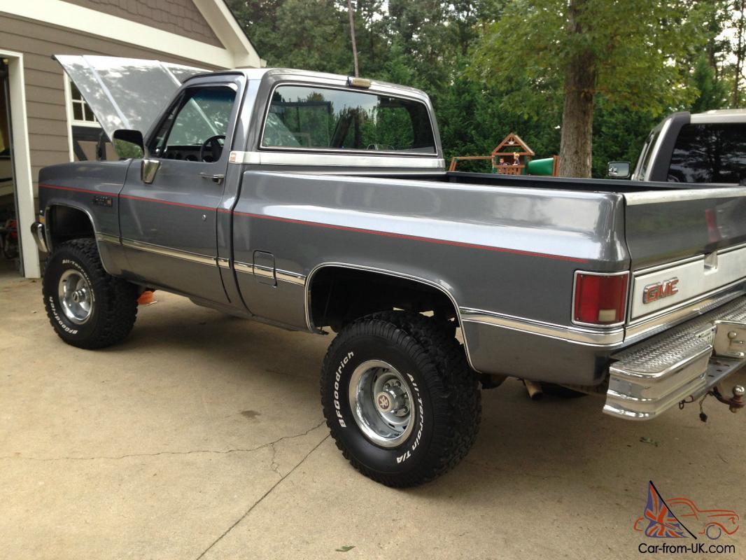 Pickup 86 chevy pickup : GMC SIERRA CHEVY K1500 Wide side 4X4
