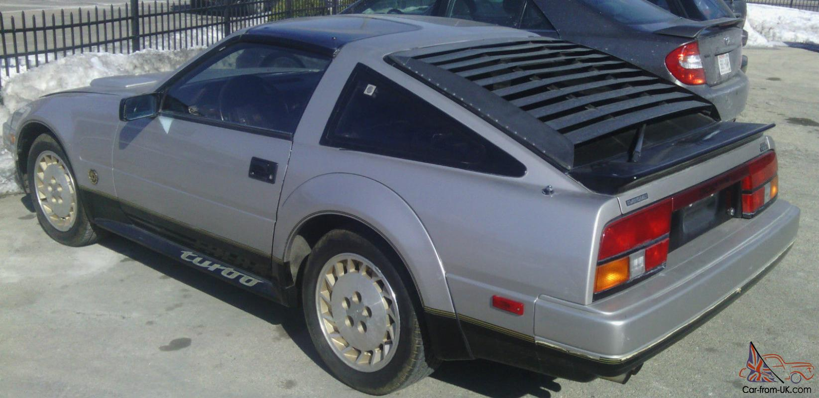 1984 Nissan 300zx Turbo 50th Anniversary Survivor 49 242 Original Miles Nr