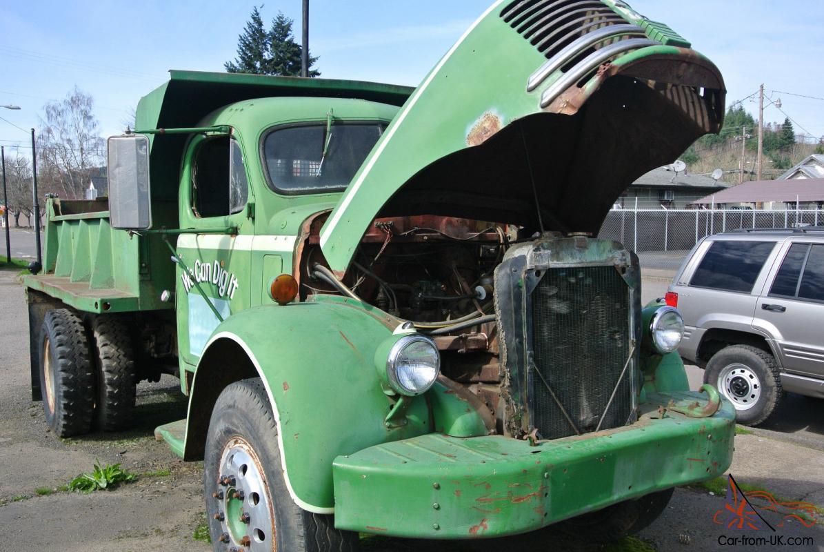 Rare Truck Short 1952 REO F22 3 Yard Garwood Dump
