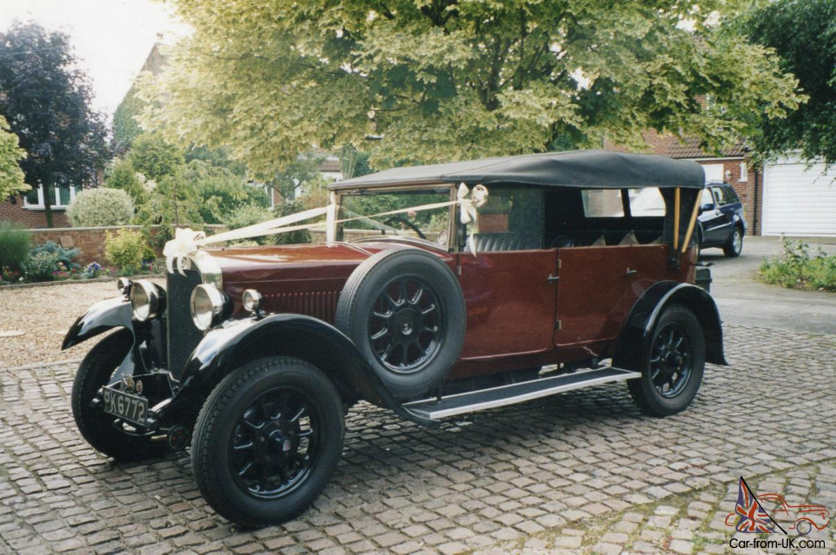 """VINTAGE 1929 HUMBER 16/50 FIVE SEAT TOURER """" EMMALINE ..."""