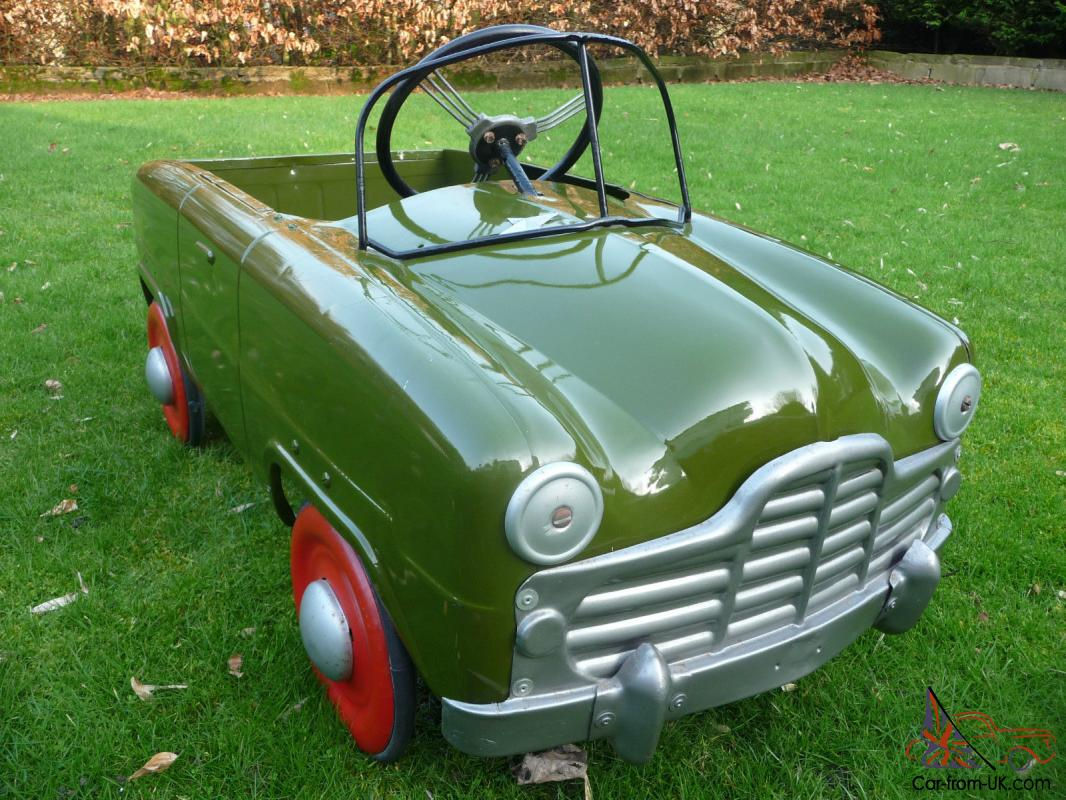 1950s Triang Ford Zephyr pedal car (BASEMENT FIND) (BARN ...1950s Cars For Sale