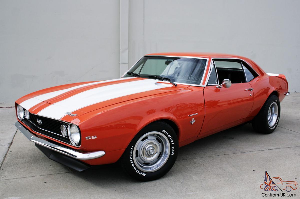 All Chevy chevy 1967 : CHEVY CAMARO SS 350 HUGGER ORANGE RALLY STRIPES $5K JUST SPENT 4 ...