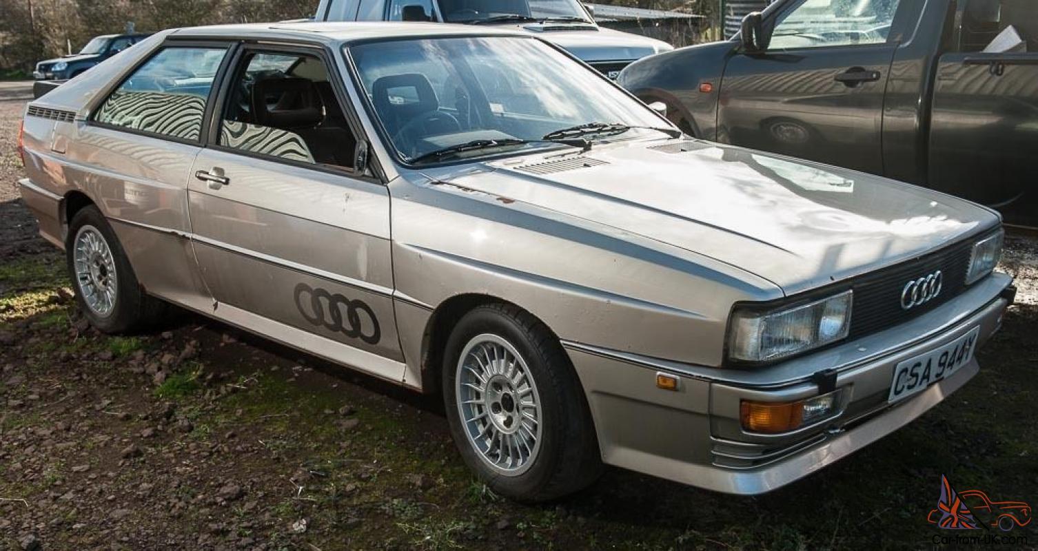 1982 Audi Quattro Coupe with sunroof
