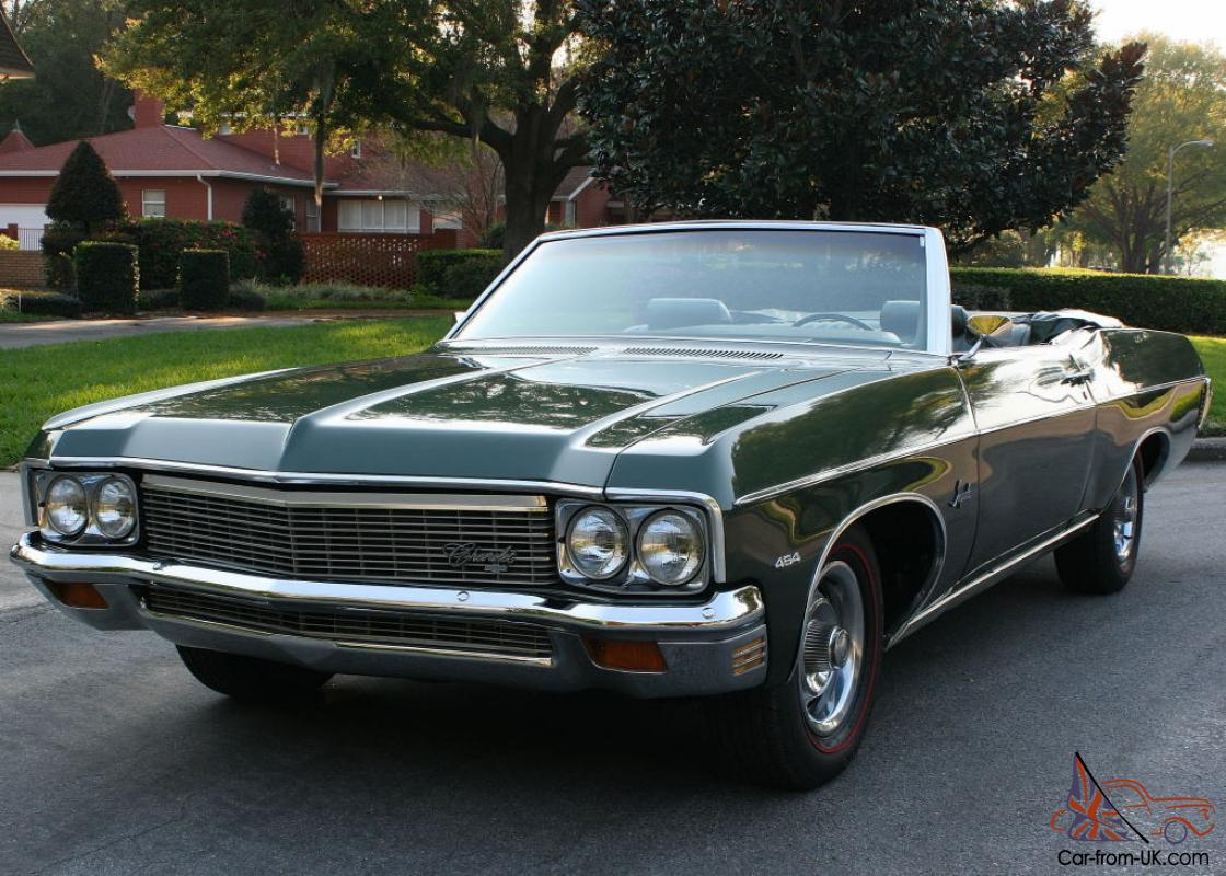 Big Block Complete Restoration 1970 Chevrolet Impala Convertible 200 Miles