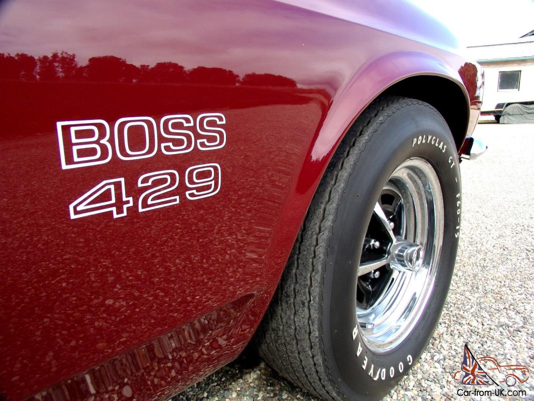 How Much Does A 1969 Boss 429 Mustang Cost