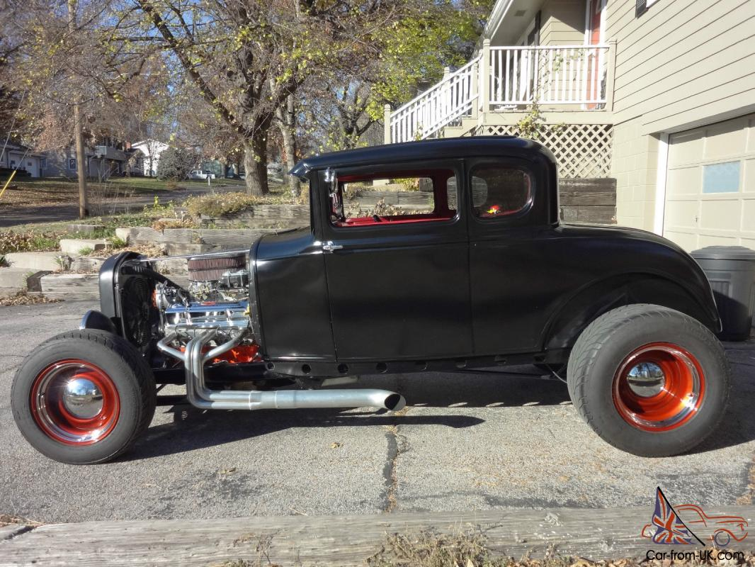 1930 Ford Coupe Model A Street Rod Hot Rod No Reserve