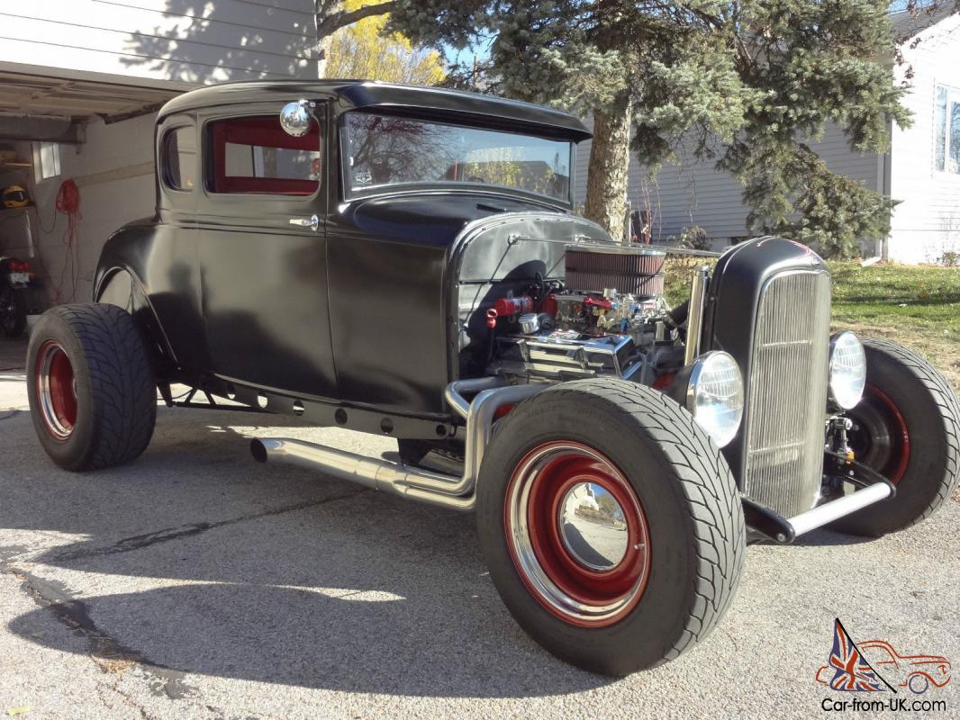 1930 Ford Coupe Model A Street Rod Hot No Reserve Chevy Wiring Diagrams