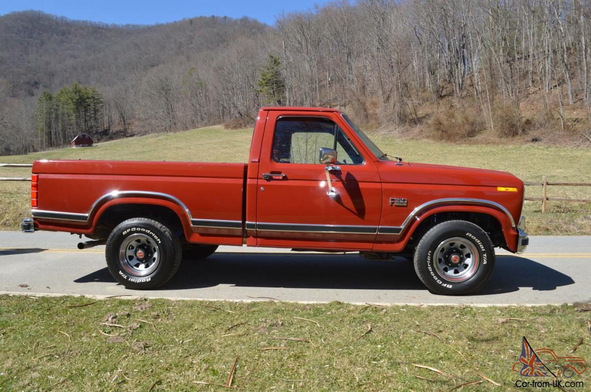 1986 Ford F-150 XLT Lariat Pickup 5.0L 302 Mint Condition Collector  Ford F Ke Wiring Diagram on