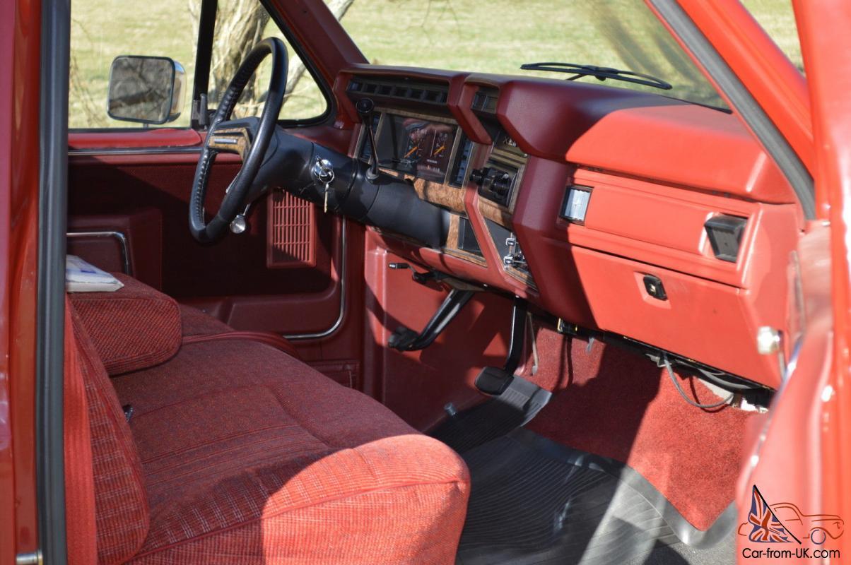 1986 Ford F-150 XLT Lariat Pickup 5.0L 302 Mint Condition ...