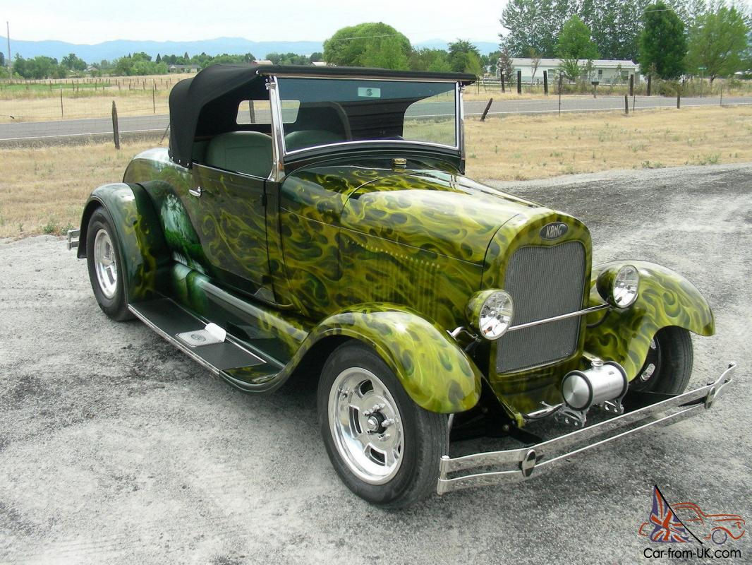 1929 Ford Model A Custom Build Coupe Roadster Street Hot Rod Very Nice