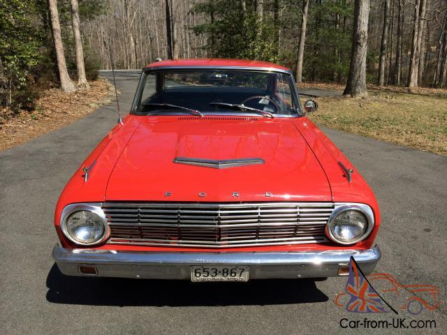 1963 Ford Falcon Sprint Hardtop 260 V8 Automatic Trans Bucket Seats Console