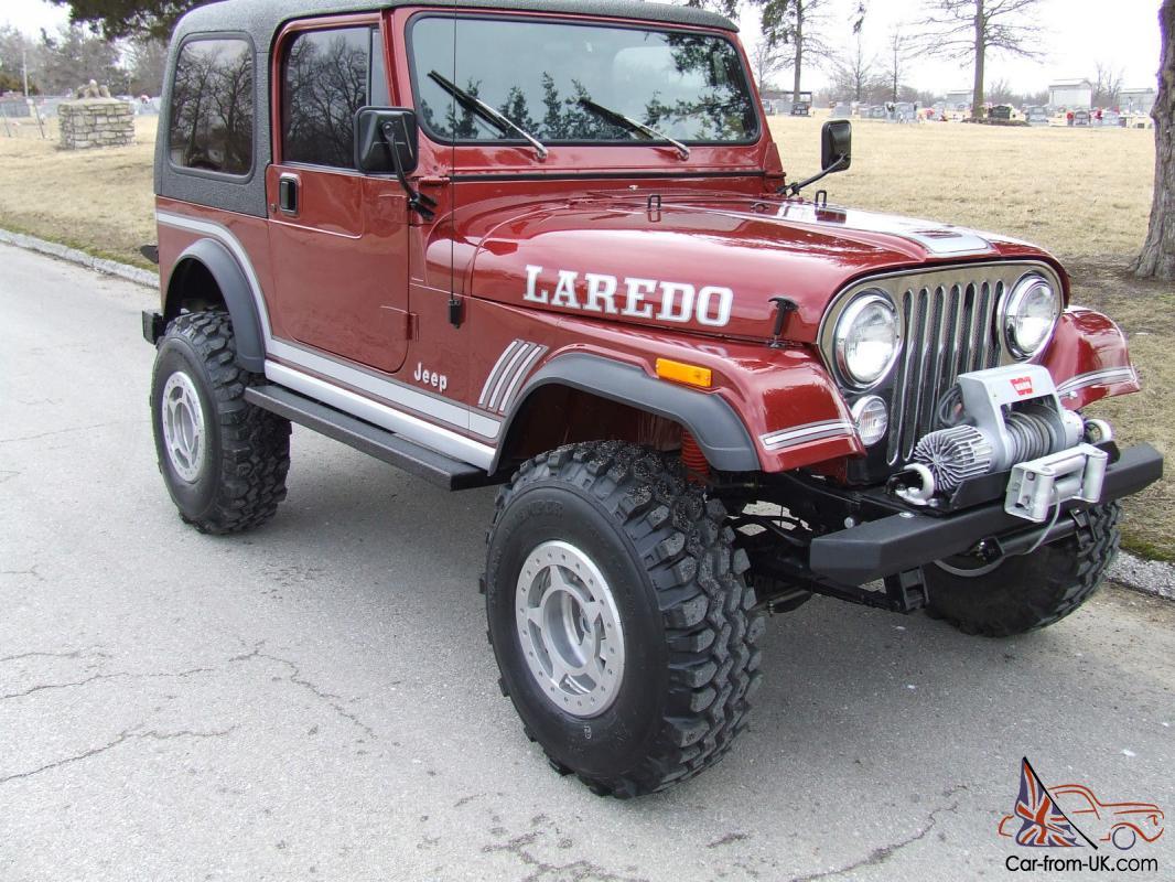 1985 Jeep CJ7 Laredo 4.2L automatic (AWSOME)