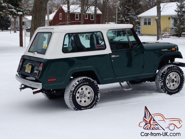 Jeep Commando For Sale >> 1970 Jeepster Commando