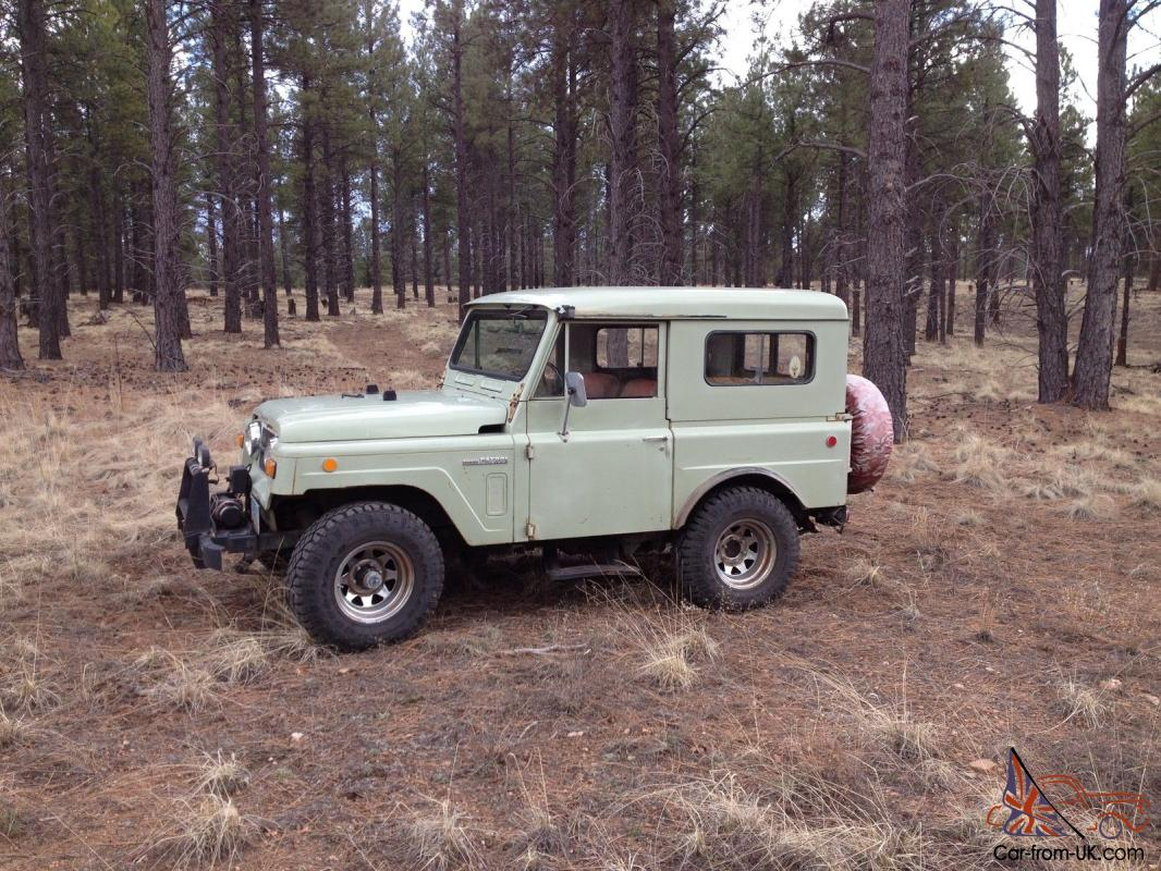 1969 Nissan Patrol Base 4 0L
