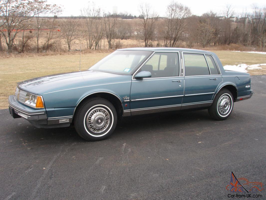 1985 Oldsmobile Regency 98 3 726 Orig Miles 100 Orig