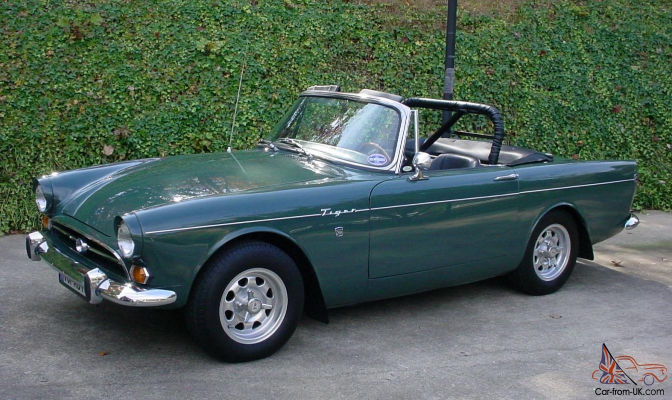 1965 Sunbeam Tiger Mk 1a Convertible