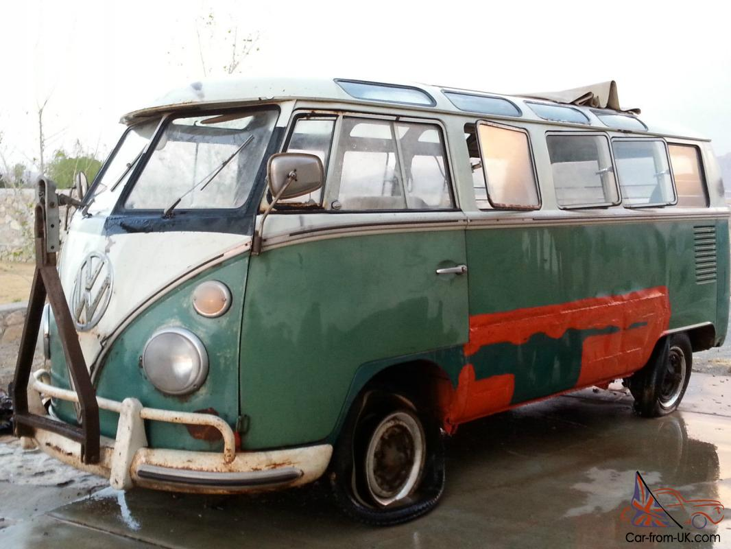 1965 Vw Bus 21 Window Ragtop