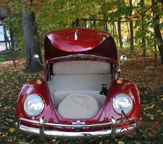 1964 Volkswagen Beetle with Factory Sunroof
