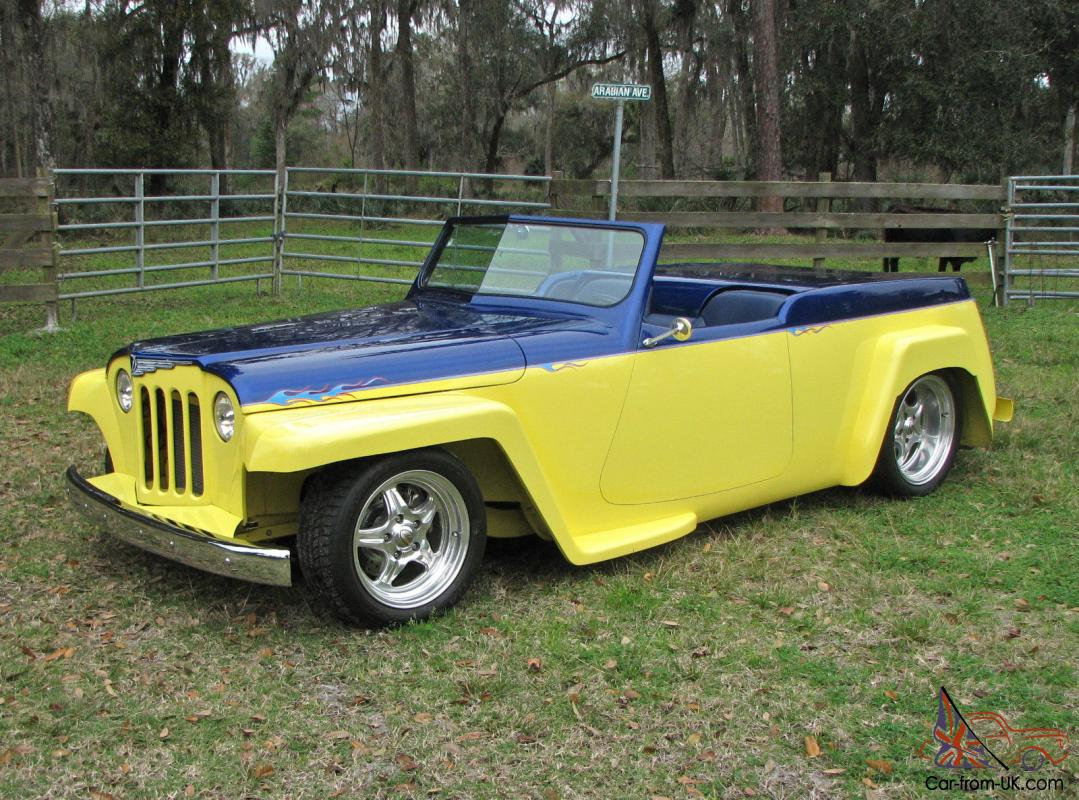 1948 Willys Overland Jeepster Street Rod Custom For Sale