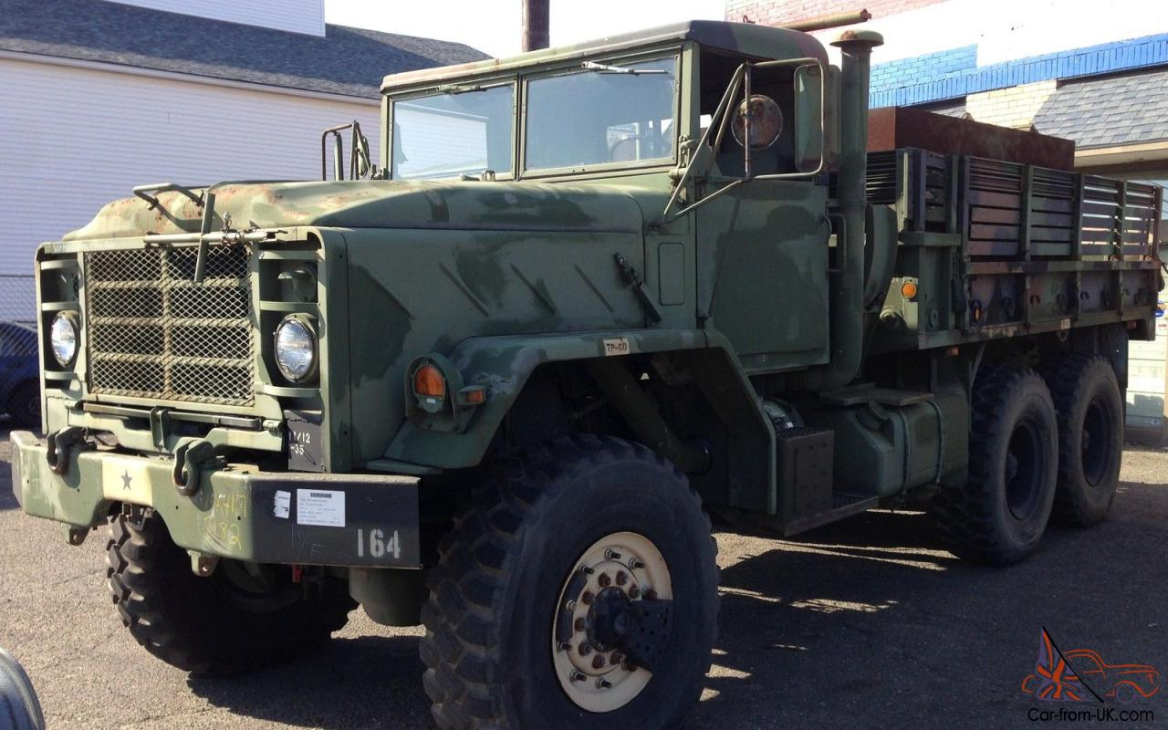 1988 BMY M923A2 6X6 MILITARY 5-TON TRUCK HARD-TOP STEEL ARMORED BED 8 3  TURBO