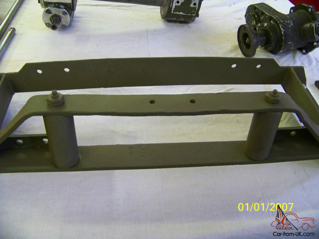 Rare Ramsey Military Model 50 Pto Winch Correct For Willys